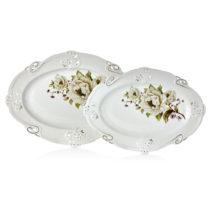 Sada 2 porcelánových tanierov Franz Johann