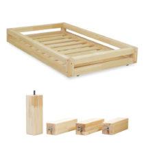 Sada lakovanej zásuvky pod posteľ a 4 predĺžených n&...
