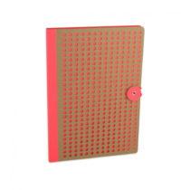 Oranžový zápisník Portico Designs Laser, 160 strán