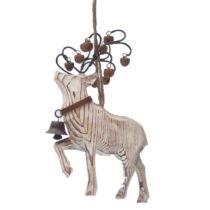 Závesná dekorácia Antic Line Natural Deer