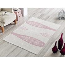 Bavlnený koberec Rose Ornament, 80×150 cm