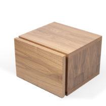 Hnedý nočný stolík TemaHome Float