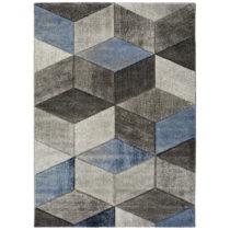 Modro-sivý koberec Universal Indigo Azul Robo, 60×120 cm