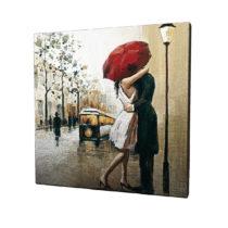 Obraz na plátne Paris, 45×45 cm