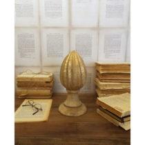 Dekorácia z mangového dreva Orchidea Milano Pinecone, výška 26 ...