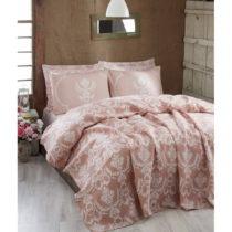 Ľahká prikrývka cez posteľ Pure Powder, 200x235 cm