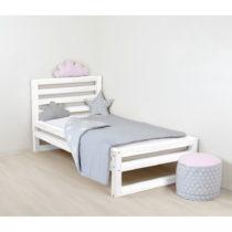 Detská biela drevená jednolôžková posteľ Ben...
