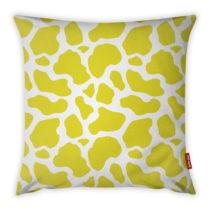 Žlto-biela obliečka na vankúš Vitaus Animal Print, 43&#xA...