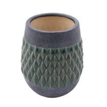Keramická váza Zuiver Nito Moss, výška23 cm