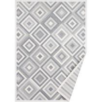 Biely vzorovaný obojstranný koberec Narma Tahula, 250×&#xA0...