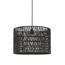 Čierne stropné svietidlo LABEL51 Stripe