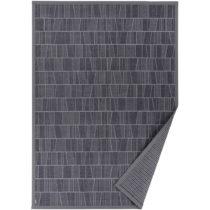 Sivý vzorovaný obojstranný koberec Narma Kursi, 140 × 200 cm