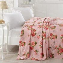Prikrývka cez posteľ Grete Pink, 200x235cm