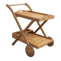Záhradný servírovací vozík z akáciové...