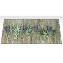 Vysokoodolný kuchynský koberec Webtappeti Lavender, 60×&#xA...
