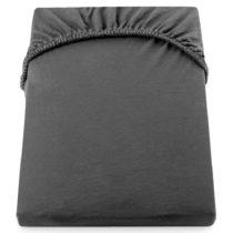 Tmavosivá elastická bavlnená plachta DecoKing Amber Collection, 100&#...
