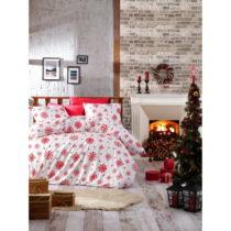 Vianočné bavlnené obliečky na jednolôžko s ...