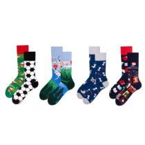 Sada 4 párov ponožiek v darčekovom balení Many Mornings Advent...