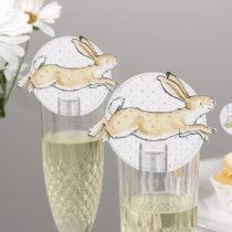 Sada 10 papierových dekorácií na poháre Neviti Guess How Much&am...