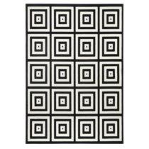 Čierno-sivý koberec Zala Living Duola, 200×290&#...