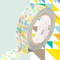 Washi páska MT Masking Tape Vivienne, návin10m