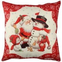 Vankúš Christmas Family, 43×43 cm