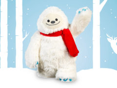 Plyšová vianočná hračka Topshop