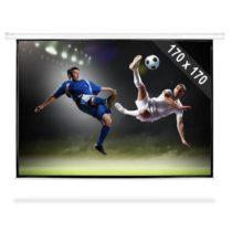 FrontStage PSBB-96, 244 cm rolovateľné premietacie plátno, 170 x 170 cm, 1:1