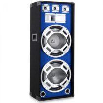 Skytec PA reproduktor s 2 x 38 cm subwooferom, modrý LED efekt