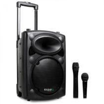 Ibiza Port8VHF-BT, mobilný PA-box s kolieskami, batéria, Bluetooth, 200W RMS
