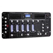 Resident DJ Kemistry 3 B, 4-kanálový DJ mixážny pult, bluetooth, USB, SD, phono, čierny