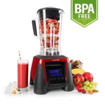 Klarstein Herakles-8G-R, 1800 W, 2 litre, stolný mixér, červený, smoothie, bez BPA