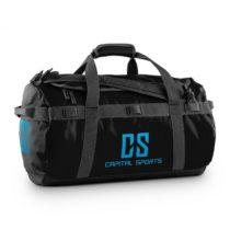 Capital Sports Travel S, 45l, športová taška/ruksak, odpudzujúca vodu, čierna