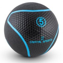 Capital Sports Medba 5, čierny, medicinbal 5kg guma
