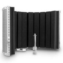 Auna MP32 MKII, strieborný, mikrofónový absorbčný panel, vrátane adaptérav
