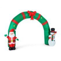 OneConcept Merry-Welcome, 250 cm, nafukovací bránkový oblúk, LED