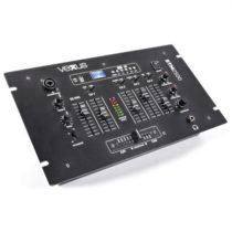 Vexus STM2500, čierny, 5-kanálový mixážny pult, bluetooth, USB, MP3, EQ, phono