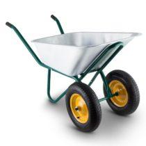 Waldbeck Heavyload, fúrik, 120 l, 320 kg, 2-kolieskový, oceľ, zelený