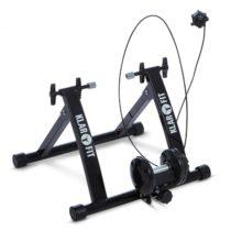 KLARFIT Tourek, čierny, bicykel, rotopéd, domáci trenažér, 26/28 palcov, 100 kg, oceľ
