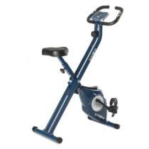 KLARFIT Azura X-Bike, bicykel na domáci tréning, do 100 kg, merač tepu, sklápací, 3 kg, modrý