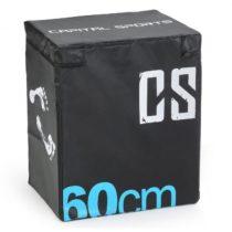 Capital Sports Rooksy Soft Jump Box Plyo Box 60x50x30 cm čierna farba