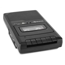 Auna RQ-132USB, prenosný kazetový rekordér, diktafón, mikrofón, micro USB