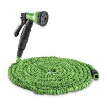 Waldbeck Water Wizard 30, flexibilná záhradná hadica, 8 funkcií, 30 m, zelená