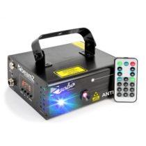 Beamz Anthe II, dvojitý laser, 7 DMX kanálov, 9 W RGB, 12 motívov, master/slave