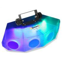 Beamz Mini-Moonflower svetelný efekt s 4-LED šošovkou 132xRGBA-LEDspriehľadná farba