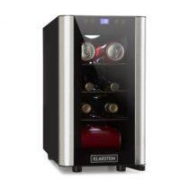 Chladnička na nápoje Klarstein Vinovista Picollo, 24 l/8 fliaš, LED, sklenené dvere, ušľachtilá oceľ