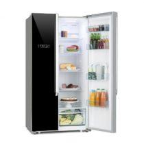 Klarstein Grand Host XL, kombinácia chladničky s mrazničkou, 517 litrov, A++, čierna