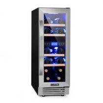 Klarstein Vinovilla Duo 17, dvojzónová vinotéka, chladnička, 53l, 17 fl., 3-farebné LED osvetlenie, ...
