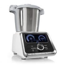 Klarstein GrandPrix kuchynský robot, 500W/1000W 2,5l, miska na miešanie z ušľachtilej ocele, biela f...