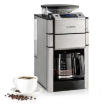 Klarstein Aromatica X, prekvapkávací kávovar, mlynček, sklená kanvica, Aroma+, nehrdzavejúca oceľ